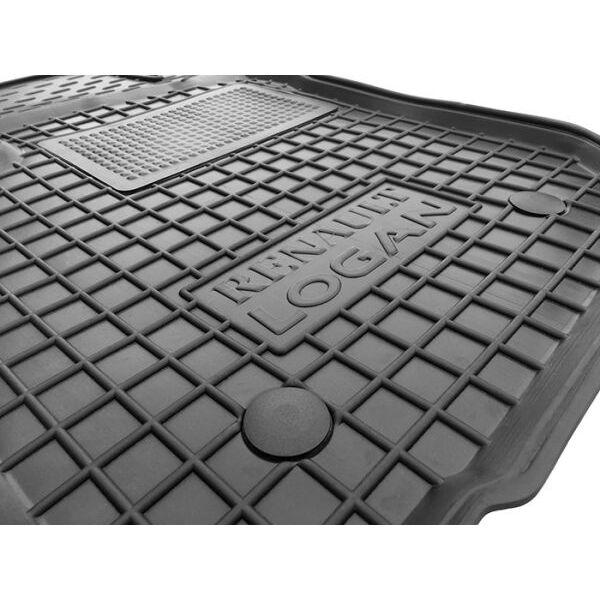 Водительский коврик в салон Renault Logan 2013- (Avto-Gumm)
