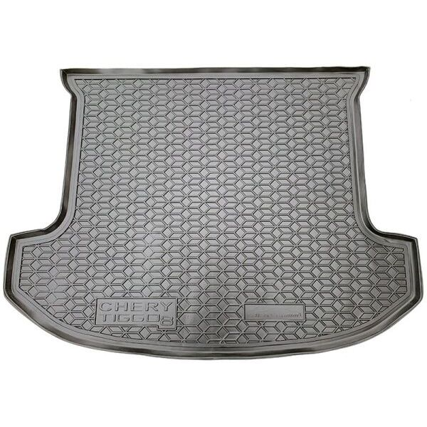 Автомобильный коврик в багажник Chery Tiggo 8 2018- 5 мест (Avto-Gumm)