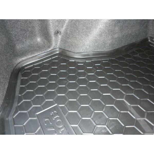 Автомобильный коврик в багажник Honda Civic 4D Sedan 2006- (Avto-Gumm)
