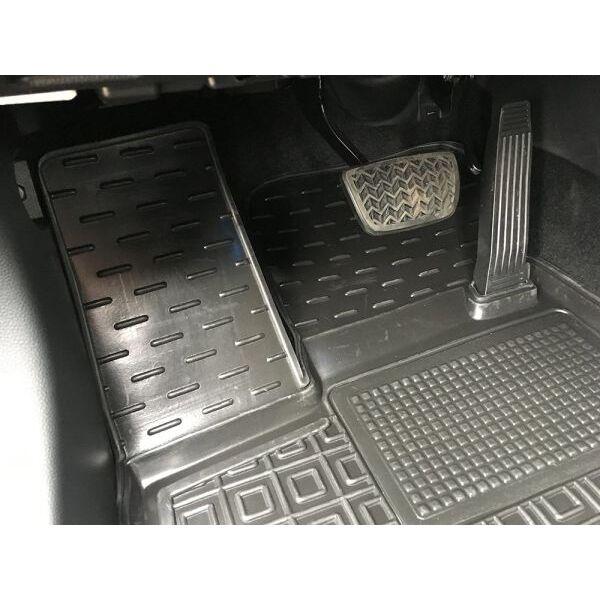 Водительский коврик в салон Toyota RAV4 2019- (Avto-Gumm)