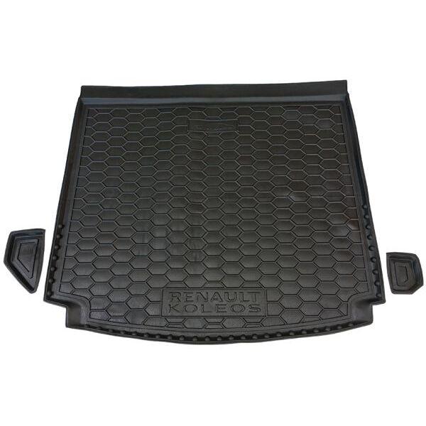 Автомобильный коврик в багажник Renault Koleos 2017- (Avto-Gumm)