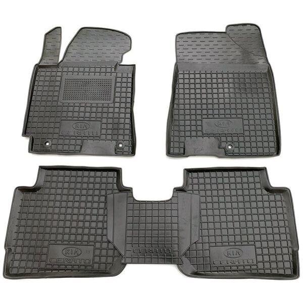 Автомобільні килимки в салон Kia Cerato 2013- (Avto-Gumm)