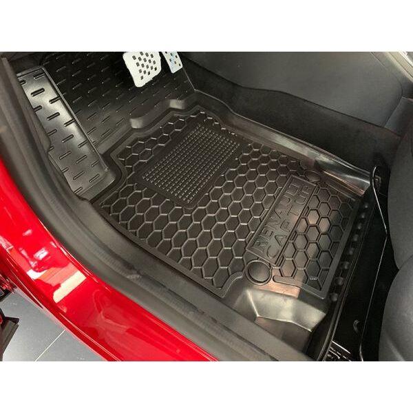 Водительский коврик в салон Renault Captur 2015- (Avto-Gumm)