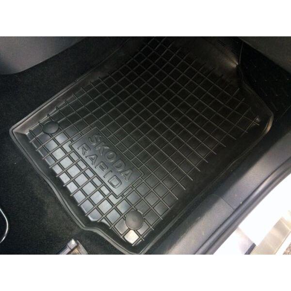 Передние коврики в автомобиль Skoda Rapid 2013- (Avto-Gumm)