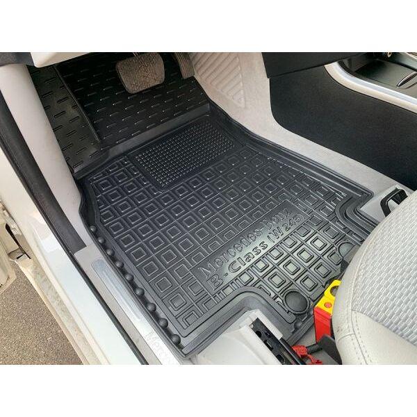 Автомобильные коврики в салон Mercedes B (W245) 2005-2011 (Avto-Gumm)