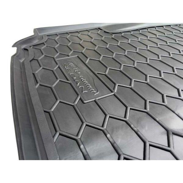 Автомобильный коврик в багажник BMW 5 (E39) 1996- Sedan (Avto-Gumm)