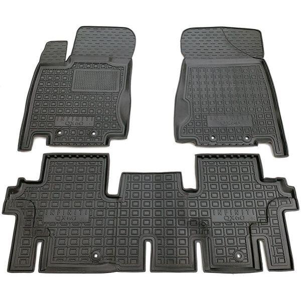 Автомобильные коврики в салон Infiniti JX/QX60 2012- 5 мест (Avto-Gumm)