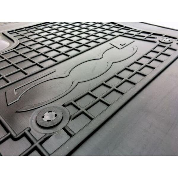 Водительский коврик в салон Fiat 500L 2013- (Avto-Gumm)