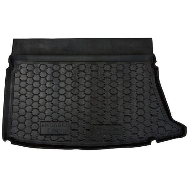 Автомобильный коврик в багажник Hyundai i30 2007- Hatchback (Avto-Gumm)