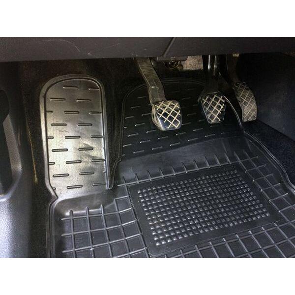 Водительский коврик в салон Volkswagen Polo Sedan 2010- (Avto-Gumm)