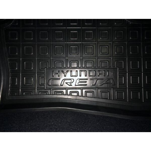 Автомобильные коврики в салон Hyundai Creta 2016- (Avto-Gumm)