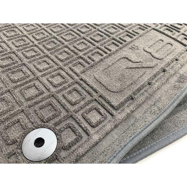 Гибридные коврики в салон Audi Q8 2018- (AVTO-Gumm)