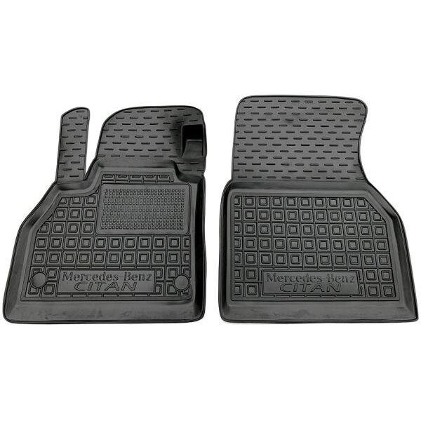Передние коврики в автомобиль Mercedes Citan 2012- (Avto-Gumm)