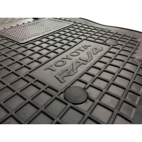 Водительский коврик в салон Toyota RAV4 2005-2009 (Avto-Gumm)