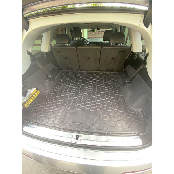 Автомобильный коврик в багажник Audi Q7 2016- (Avto-Gumm)