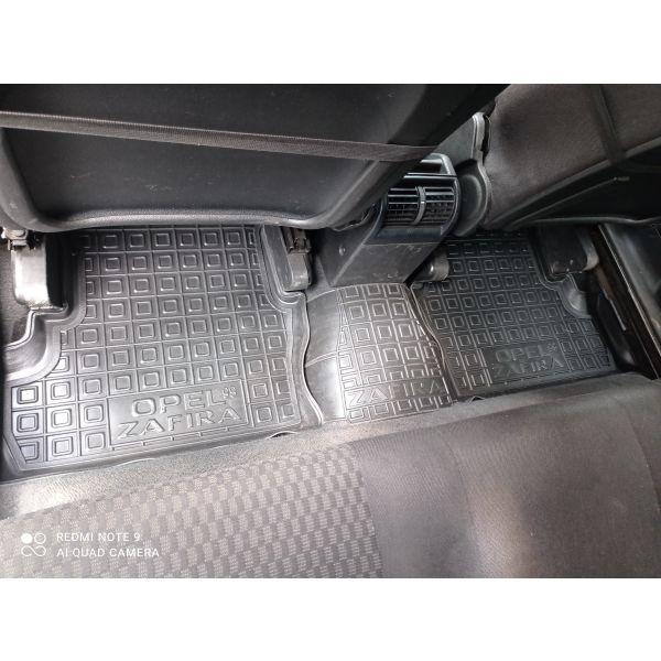 Автомобильные коврики в салон Opel Zafira A 1999- (Avto-Gumm)