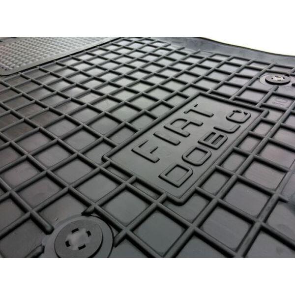 Передние коврики в автомобиль Fiat Doblo 2010- (Avto-Gumm)