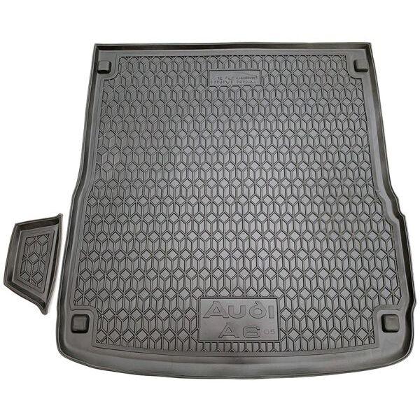 Автомобильный коврик в багажник Audi A6 (C6) 2005- Universal (Avto-Gumm)