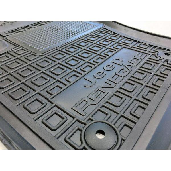 Автомобильные коврики в салон Jeep Renegade 2015- (Avto-Gumm)