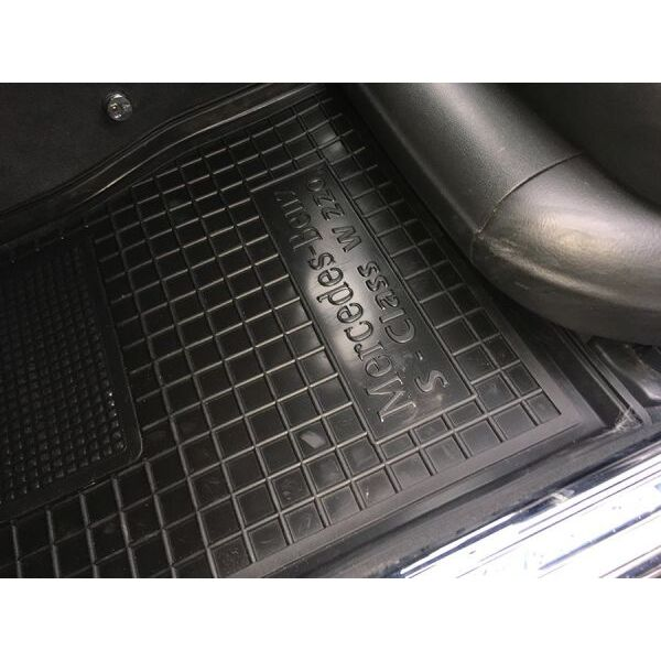 Автомобильные коврики в салон Mercedes S (W220) 1998-2005 (Avto-Gumm)