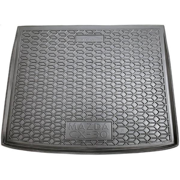 Автомобильный коврик в багажник Mazda CX-30 2020- (Avto-Gumm)