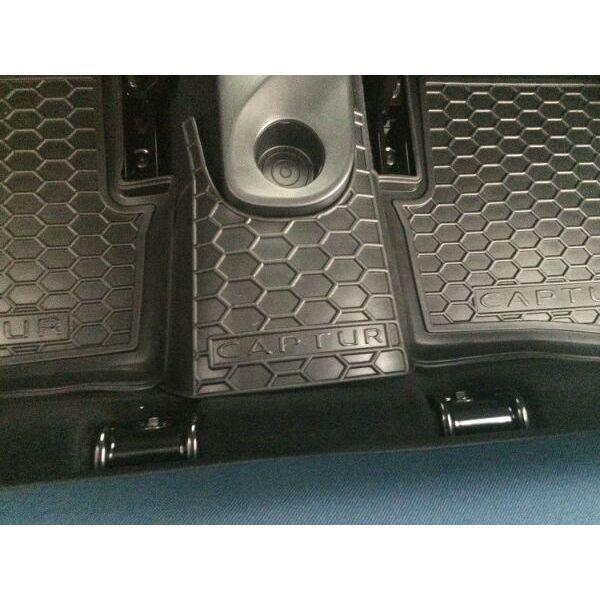 Автомобильные коврики в салон Renault Captur 2015- (Avto-Gumm)