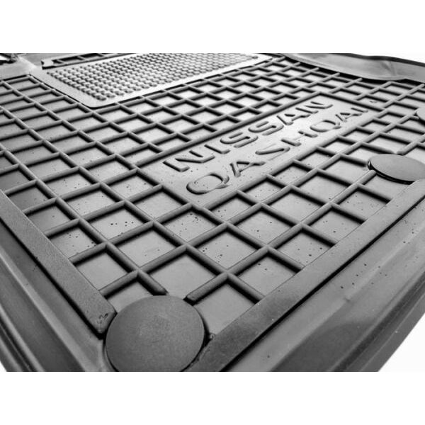 Водительский коврик в салон Nissan Qashqai 2014- (Avto-Gumm)