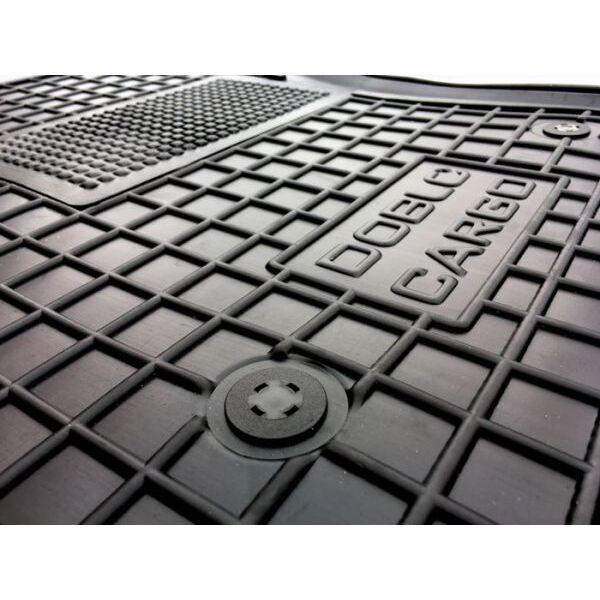 Водійський килимок в салон Fiat Doblo Cargo 2010- (Avto-Gumm)