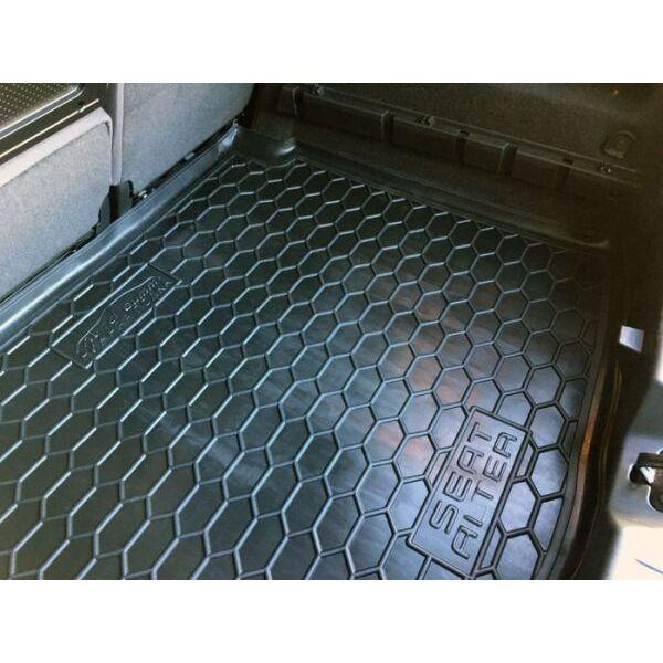 Автомобильный коврик в багажник Seat Altea 2004- нижняя полка (Avto-Gumm)