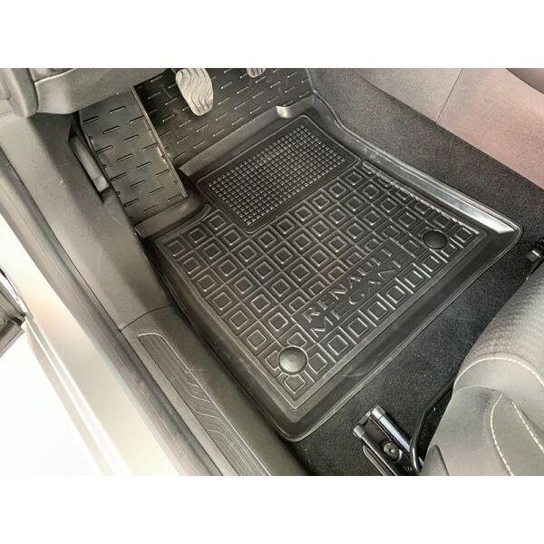 Водійський килимок в салон Renault Megane 4 2016- Sd/Hb/Un (AVTO-Gumm)