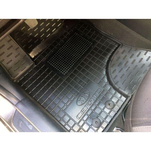 Передние коврики в автомобиль Kia Cerato 2009-2013 (Avto-Gumm)