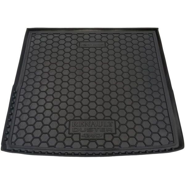Автомобильный коврик в багажник Renault Duster 10-/15- (4WD) (Avto-Gumm)