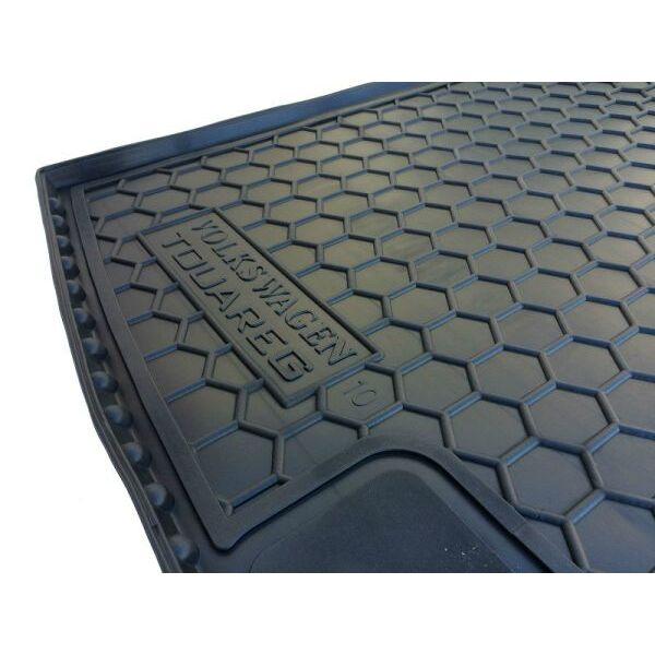 Автомобильный коврик в багажник Volkswagen Touareg 2010- 2-х зон. климат-контроль (Avto-Gumm)