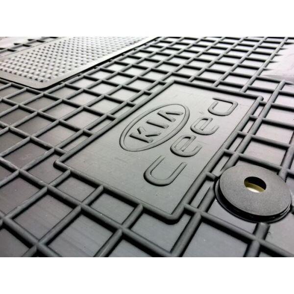 Водительский коврик в салон Kia Ceed (JD) 2012- (Avto-Gumm)