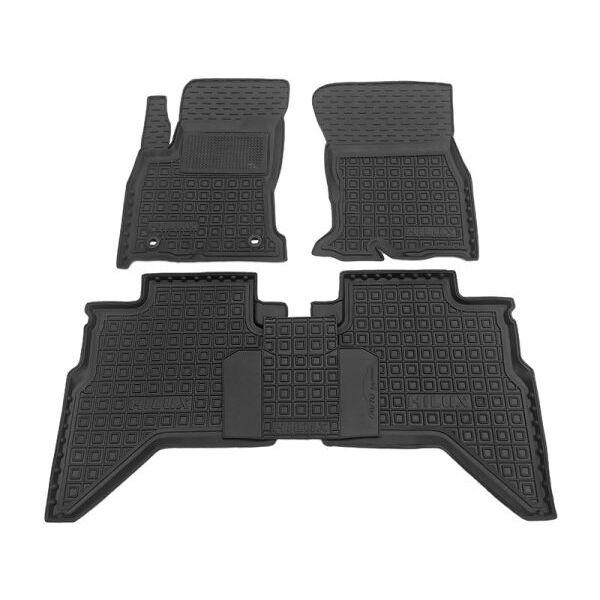 Автомобильные коврики в салон Toyota Hilux 2016- (Avto-Gumm)