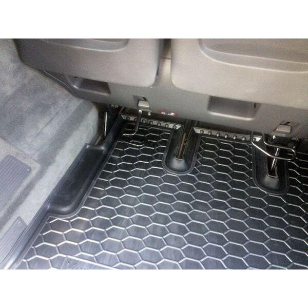Автомобильный коврик в багажник Mercedes Viano (W639) 2007- Long (Avto-Gumm)