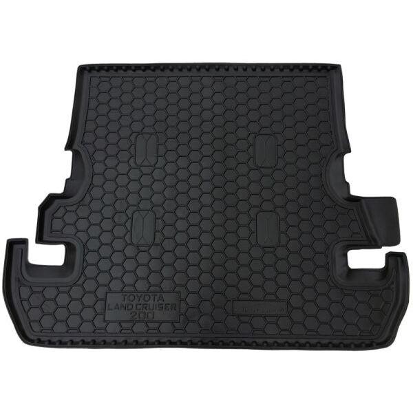 Автомобильный коврик в багажник Toyota Land Cruiser 200 2007- (7 мест) (Avto-Gumm)