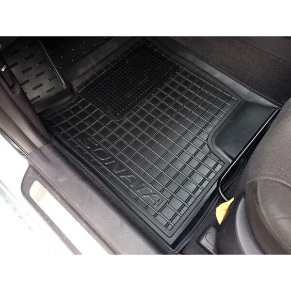 Водительский коврик в салон Hyundai Sonata NF/6 2005-2010 (Avto-Gumm)