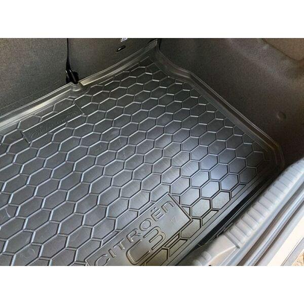 Автомобильный коврик в багажник Citroen C3 2017- (Avto-Gumm)