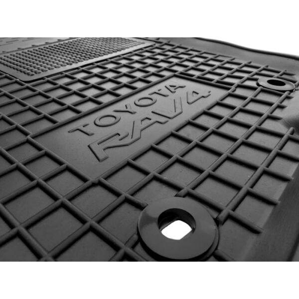 Водительский коврик в салон Toyota RAV4 2013-2016 (Avto-Gumm)