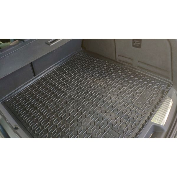 Автомобильный коврик в багажник Renault Laguna 3 2007- Universal прямоугольный (Avto-Gumm)