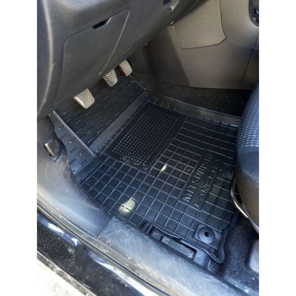 Водительский коврик в салон Mitsubishi Lancer (10) 2007- (Avto-Gumm)