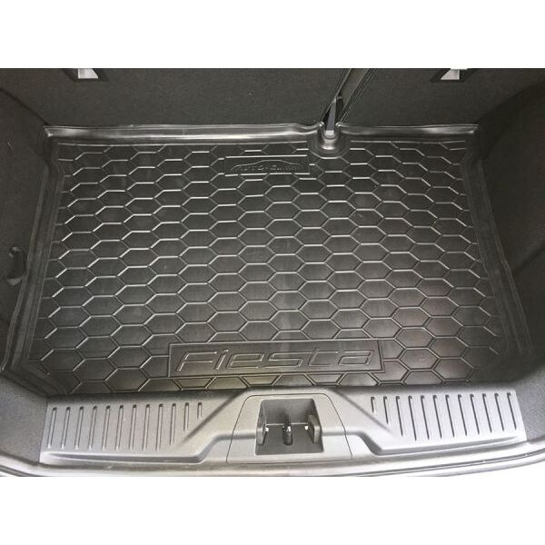 Автомобильный коврик в багажник Ford Fiesta 2018- (Avto-Gumm)