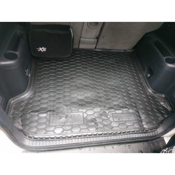 Автомобильный коврик в багажник Toyota RAV4 2005- Long (Avto-Gumm)