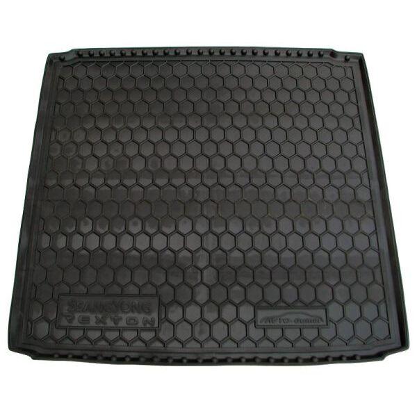 Автомобильный коврик в багажник SsangYong Rexton W 2013- (Avto-Gumm)