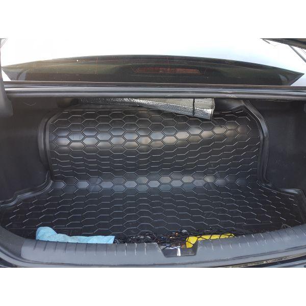 Автомобильный коврик в багажник Hyundai Sonata LF/8 2016- (Avto-Gumm)