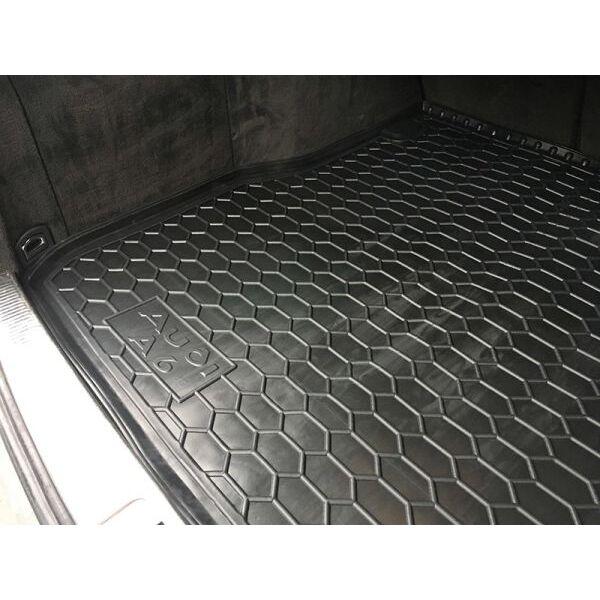 Автомобильный коврик в багажник Audi A6 (C5) 1998-2005 Universal (Avto-Gumm)