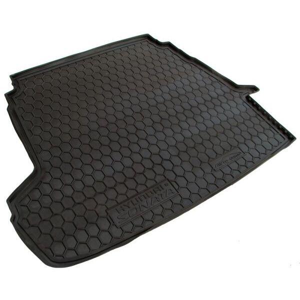 Автомобильный коврик в багажник Hyundai Sonata YF/7 2010- (Avto-Gumm)