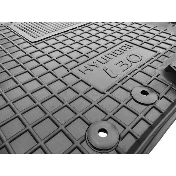 Водительский коврик в салон Hyundai i30 2007-2012 (Avto-Gumm)