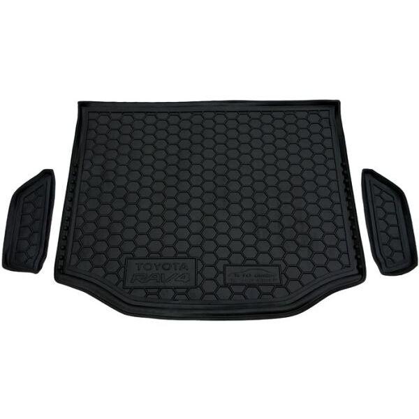 Автомобильный коврик в багажник Toyota RAV4 2013- (полноразмерка) (Avto-Gumm)